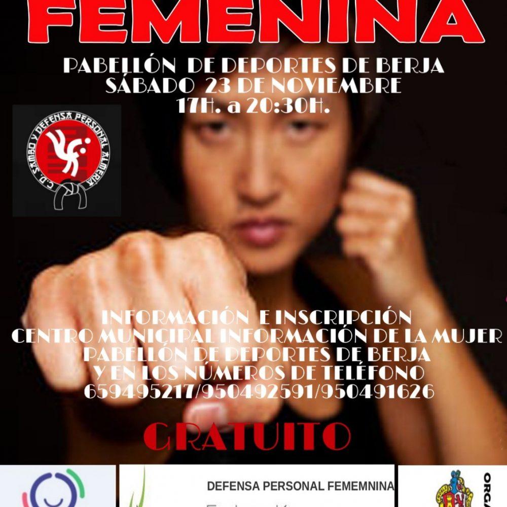 Curso defensa personal femenina y auto protección de la mujer .