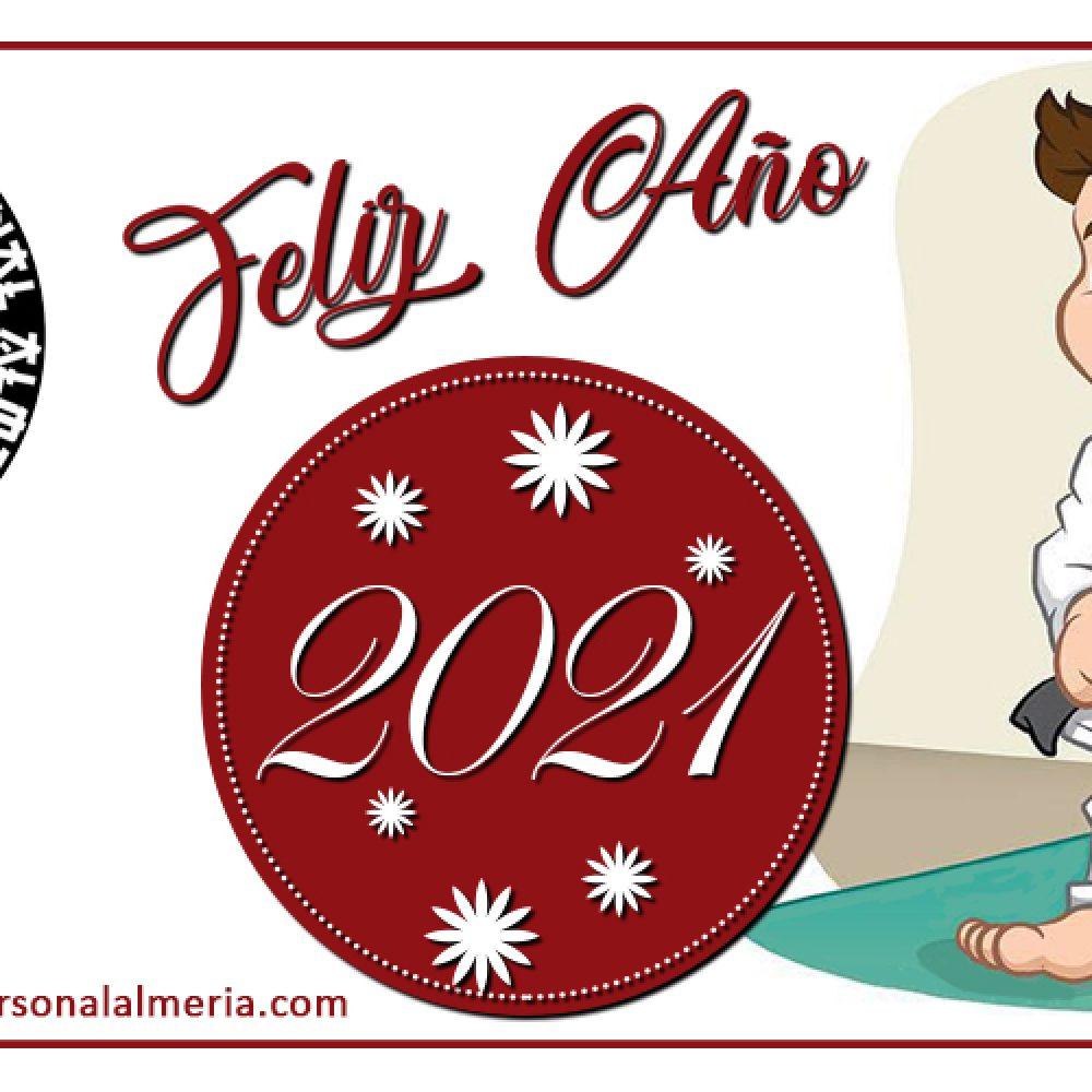 FELICES FIESTAS Y PROSPERO AÑO NUEVO 2021