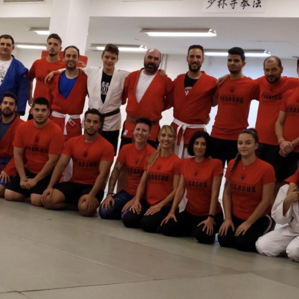 Clase de Judo.