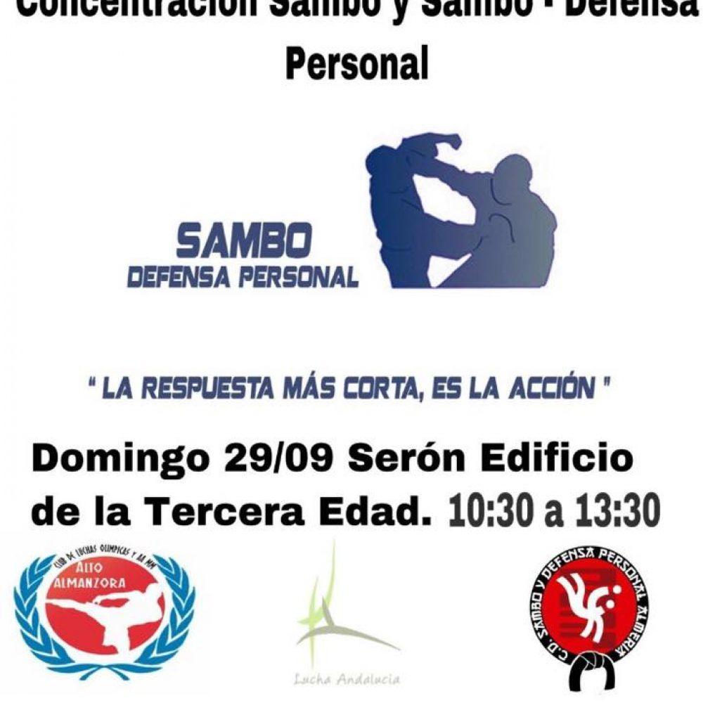Concentración de Sambo y Sambo Defensa Personal