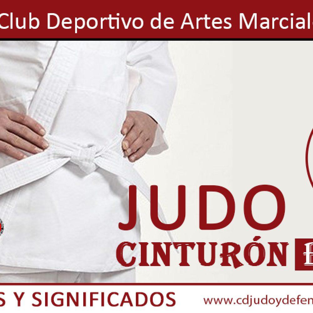Cinturón Blanco de Judo