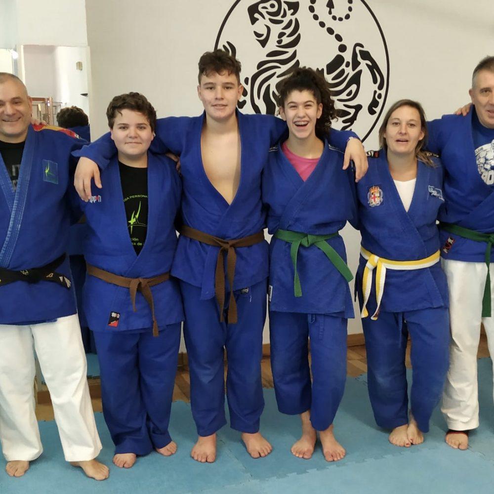 Clase de Judo y Sambo.