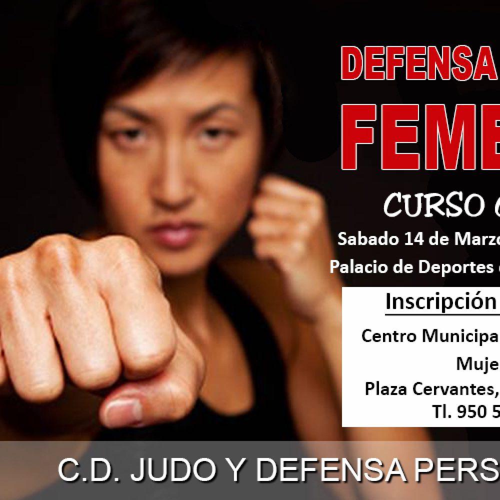 CURSO GRATUITO DE DEFENSA PERSONAL FEMENINA EN VICAR (Las Cabañuelas)