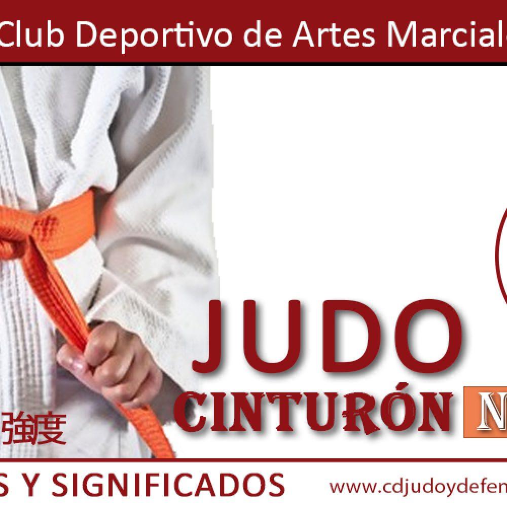 Cinturón Naranja de Judo
