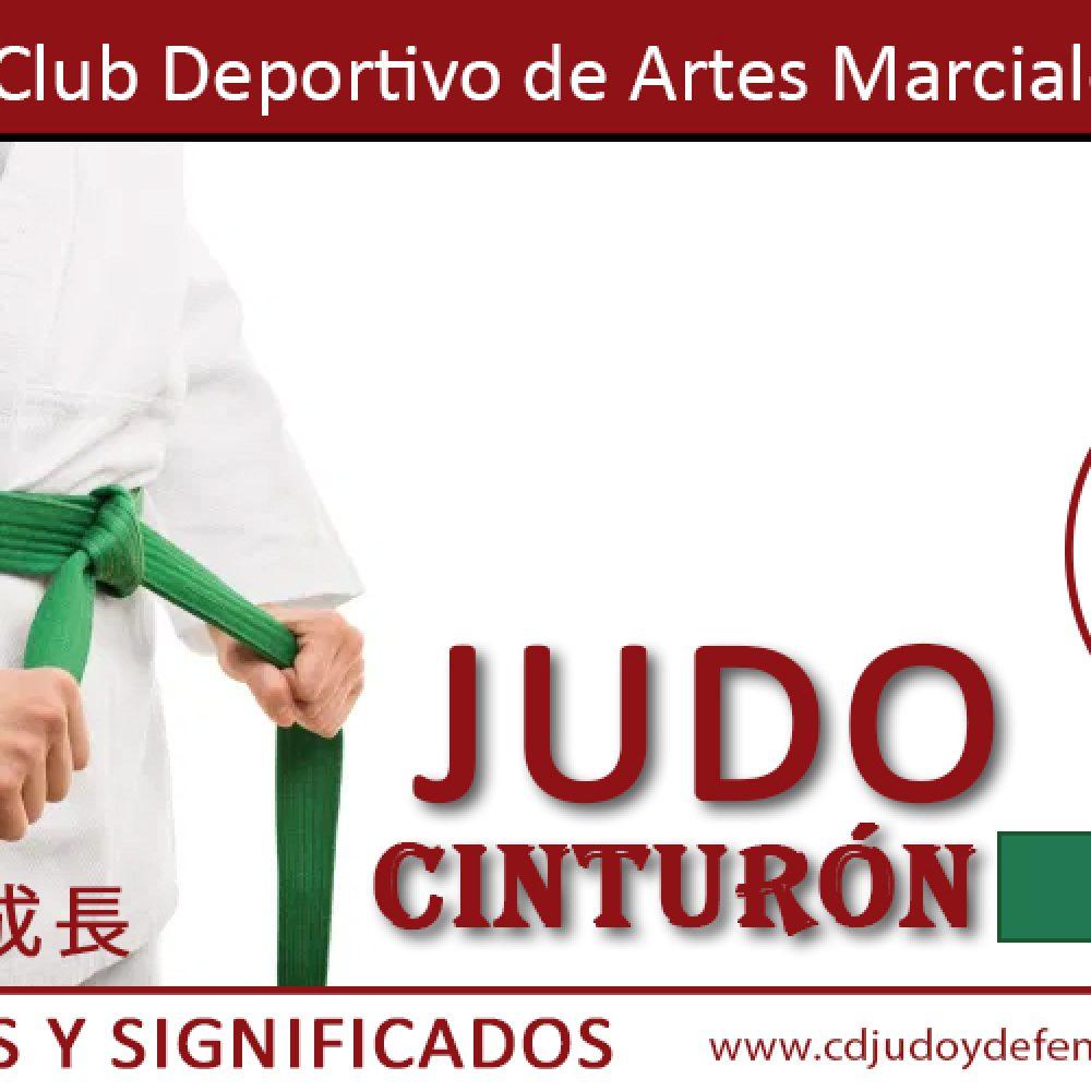 Cinturón Verde de Judo