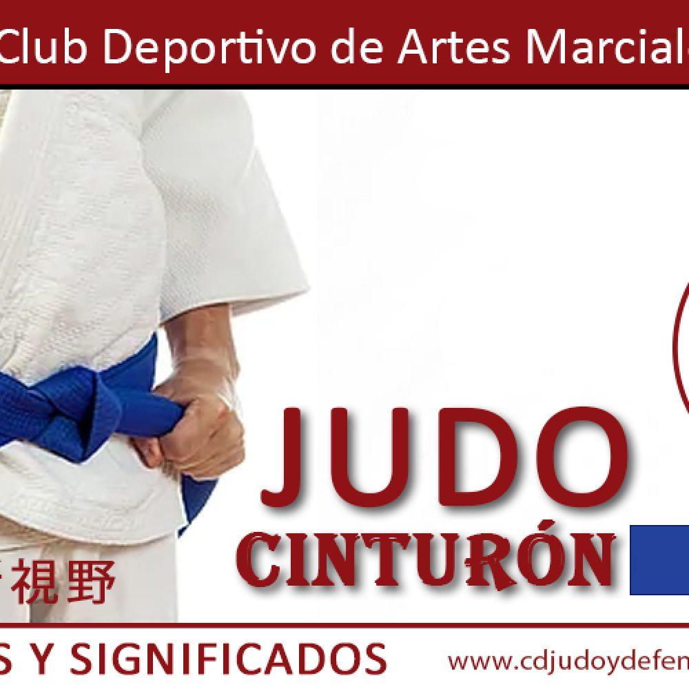 Cinturón Azul de Judo