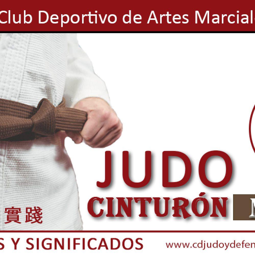 Cinturón Marrón de Judo