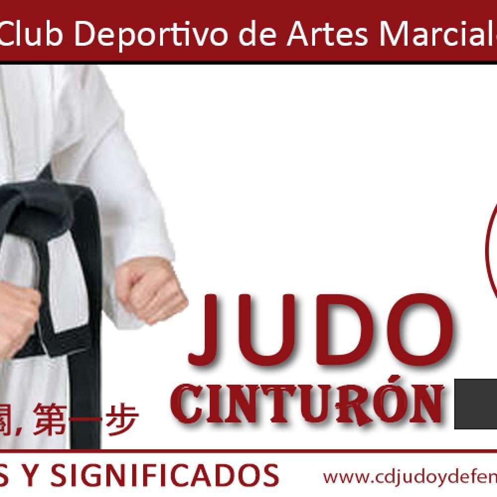 Cinturón Negro de Judo